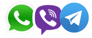 whatsapp viber telegram mini