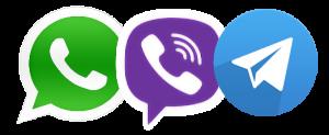 whatsapp viber telegram mini