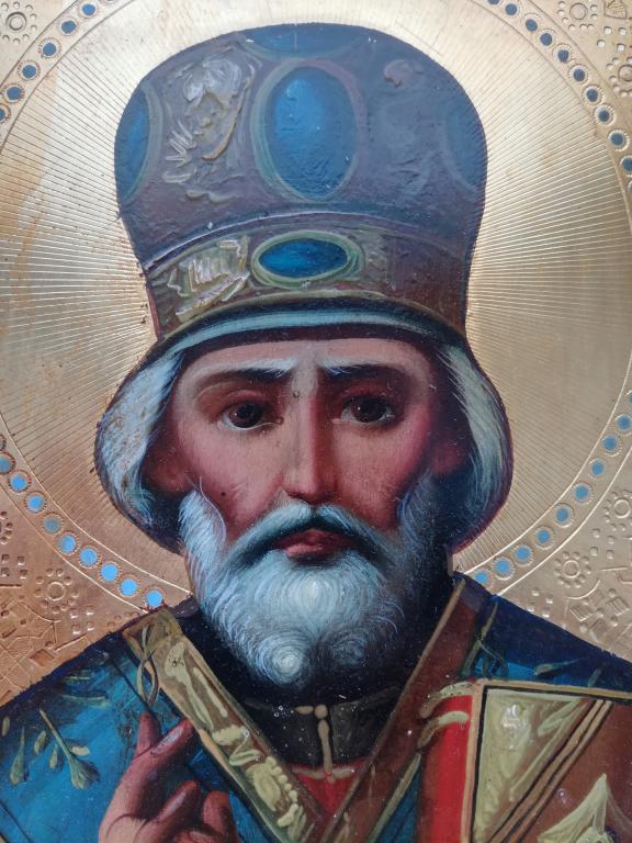 Продать икону Николая Чудотворца