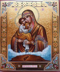продать икону|Богоматерь Почаевская