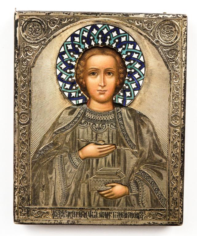 Продать икону Пантелеймон