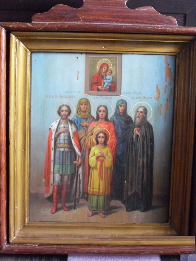 Продать Храмовую икону Смоленская-Шуйская с избранными святыми